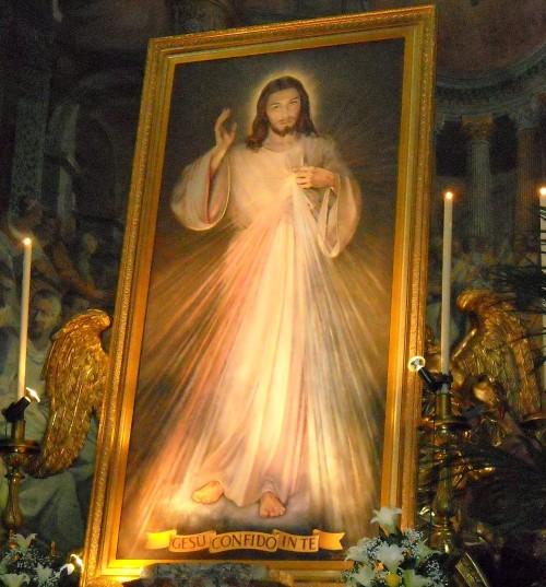 cuadro de jesus de la misericordia