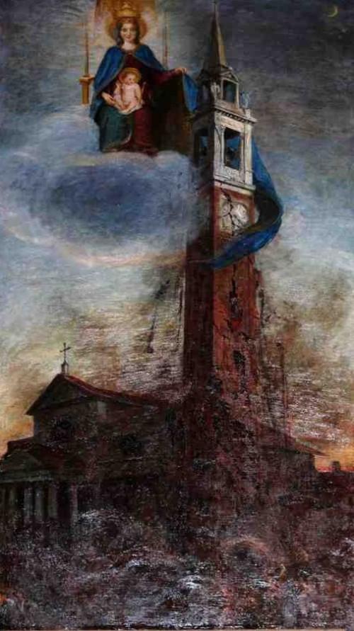 cuadro del santuario de corbetta
