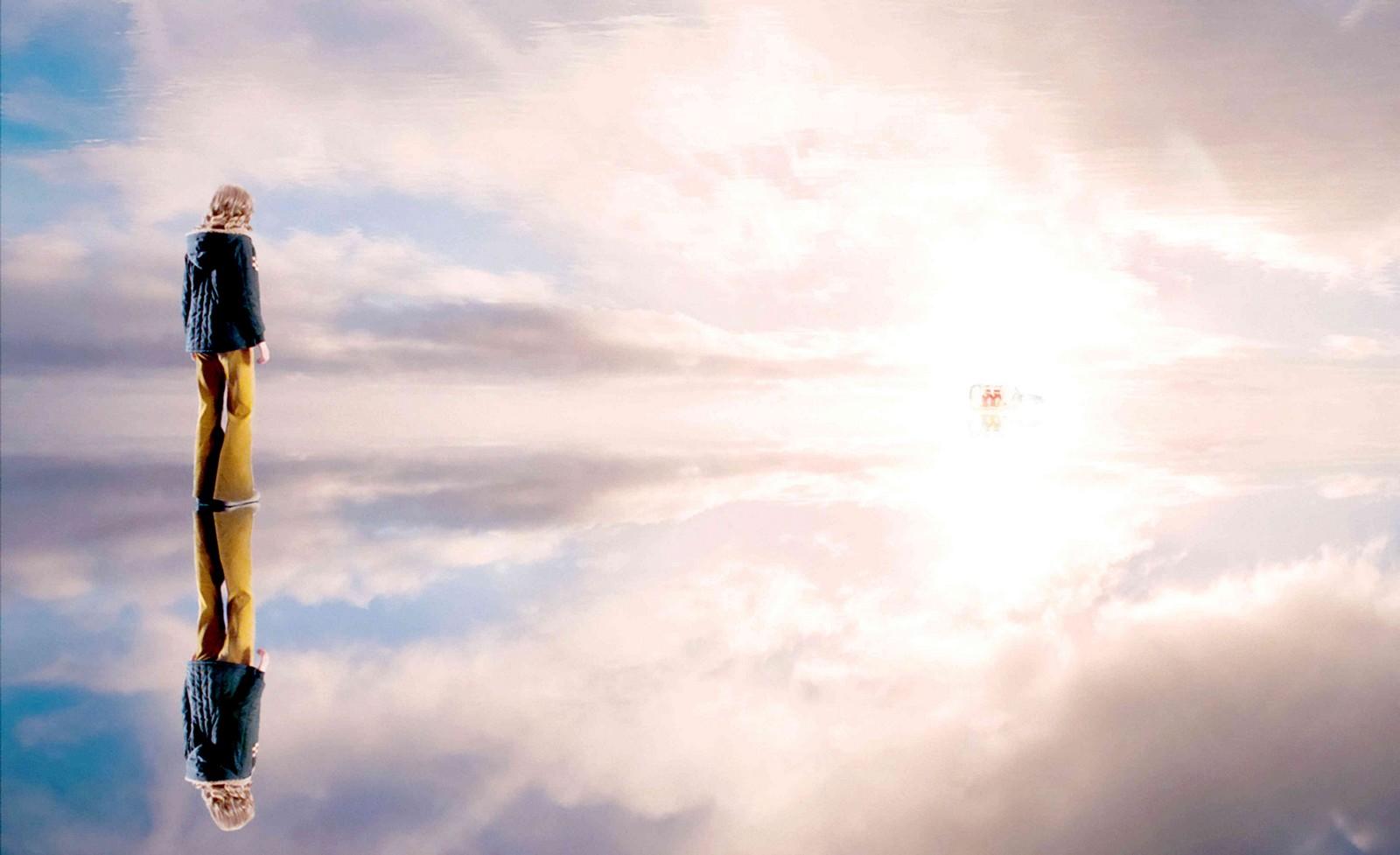 en el cielo