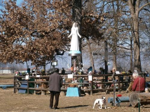 estatua de la inmaculada de stupinigi