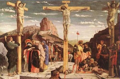 jesus crucificado entre los ladrones