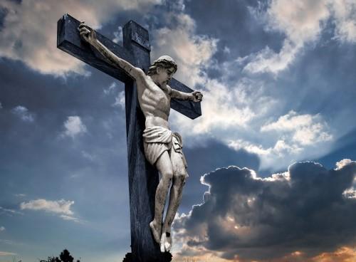 jesus crucificado fondo