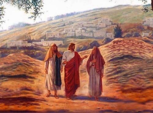 jesus en el camino de emaus