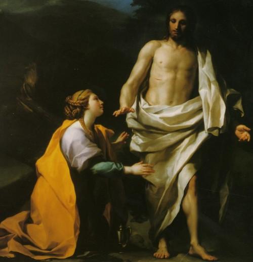 jesus se aparece a la magdalena