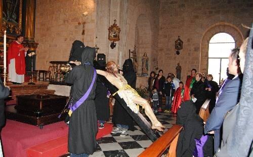 lectura de la pasion de jesucristo