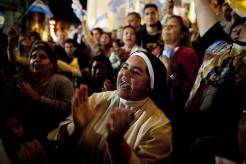 APTOPIX Argentina Pope Latin America