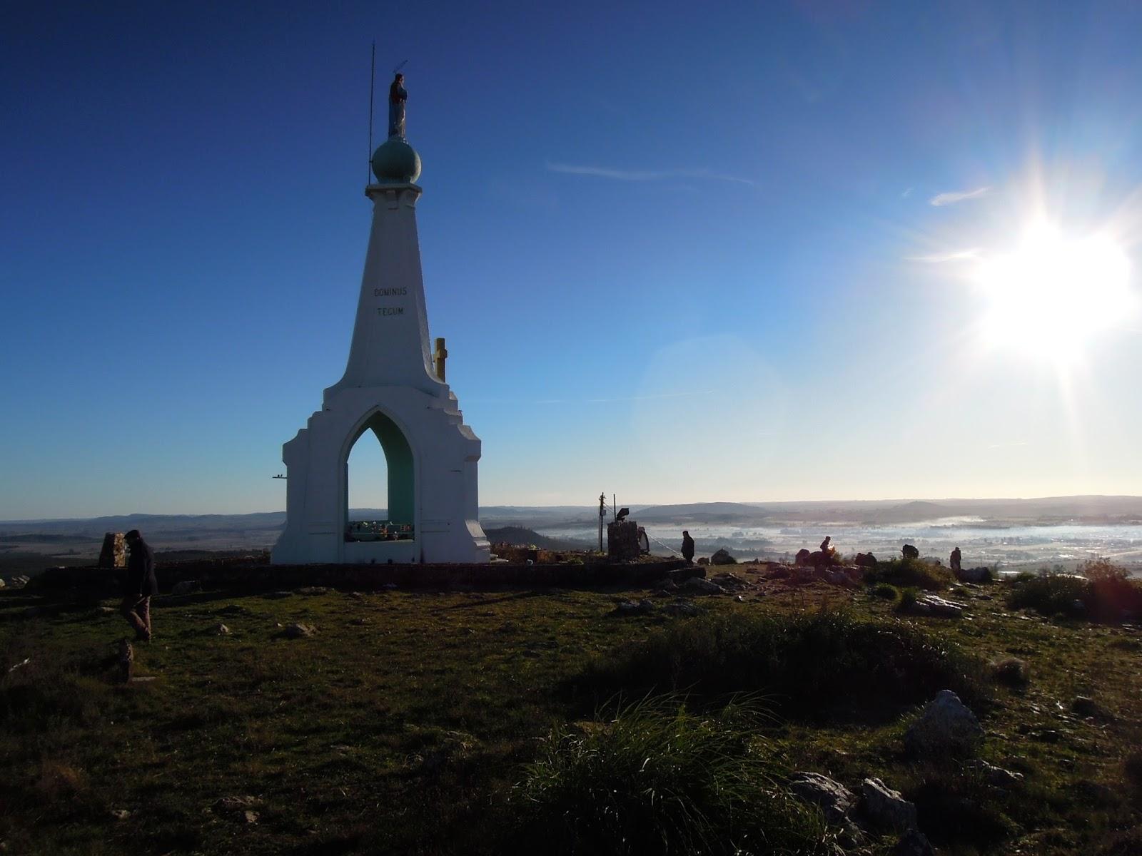 La famosa Peregrinación a la Inmaculada de Uruguay: Virgen del Verdún, Uruguay (19 de abril)