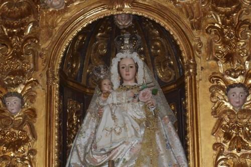 virgen de las cruces de el guijo
