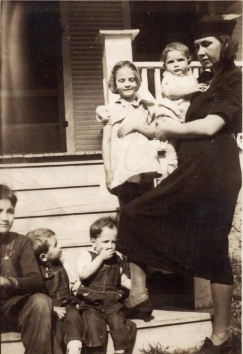 Familia de Chauncey cuando niño