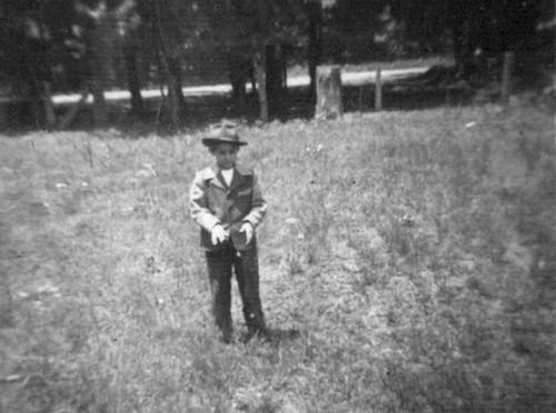 Wilburn Chauncey cuandi niño