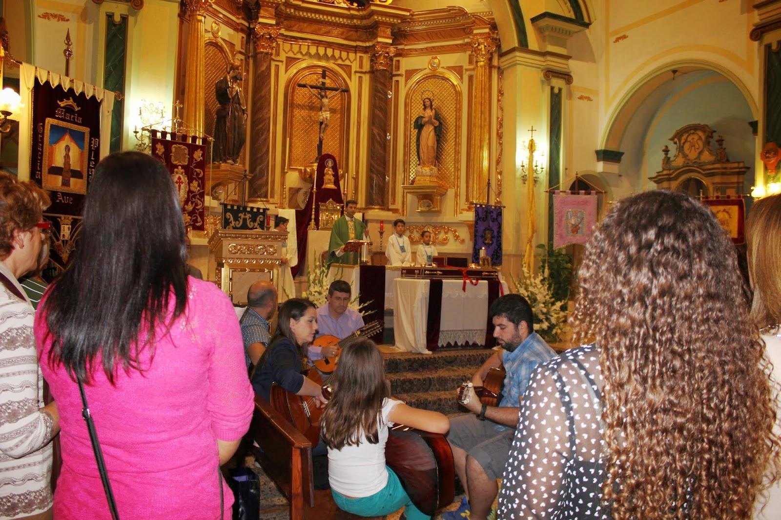 Santa María de la Arrixaca, la Antigua Patrona del Reino de Murcia, España (Ult. Dgo. mayo)