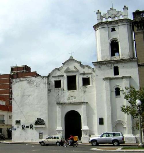 iglesia de Nuestra Señora de los Milagros en santa fe