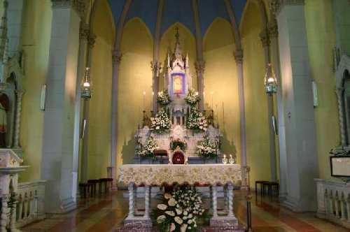 altar de la madonna di montalto