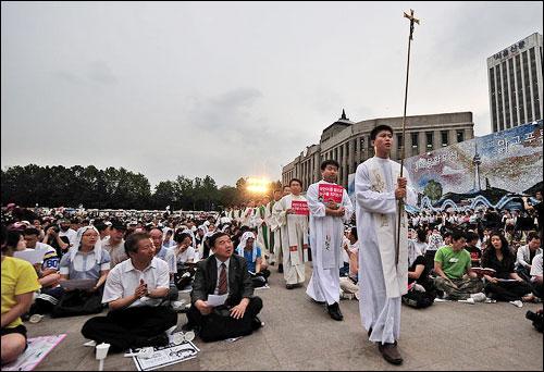 catolicos en corea del sur
