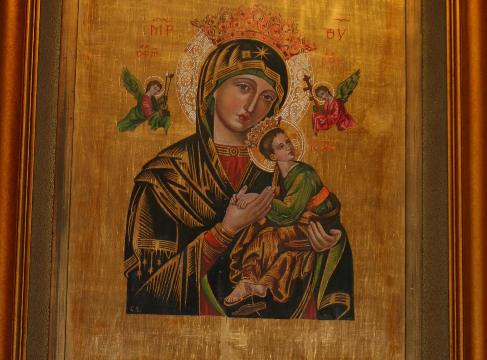 Nuestra Señora del Perpetuo Socorro, Icono Milagroso de los Redentoristas (27 jun)