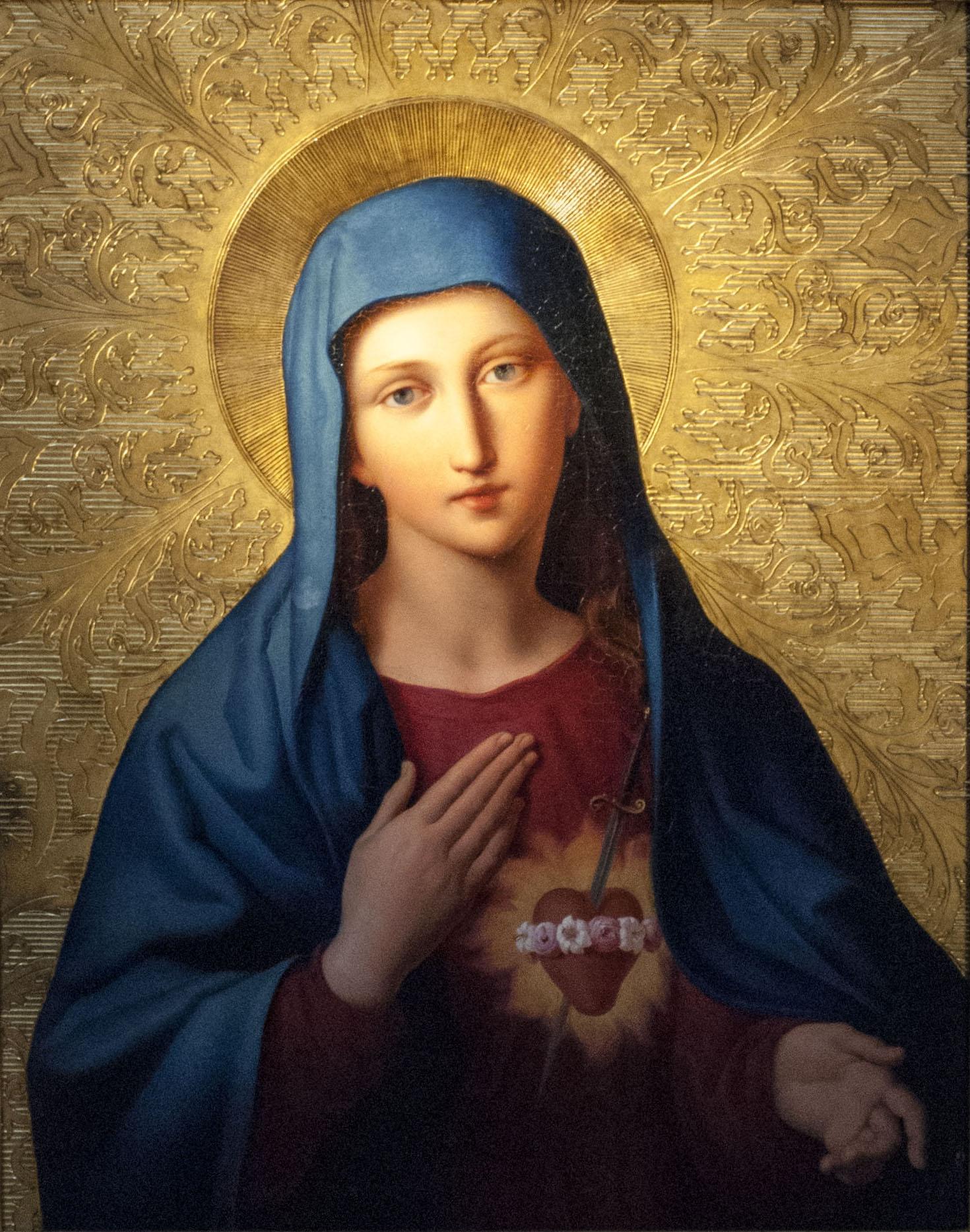 ¿Por qué el Color Azul Simboliza a la Virgen María?