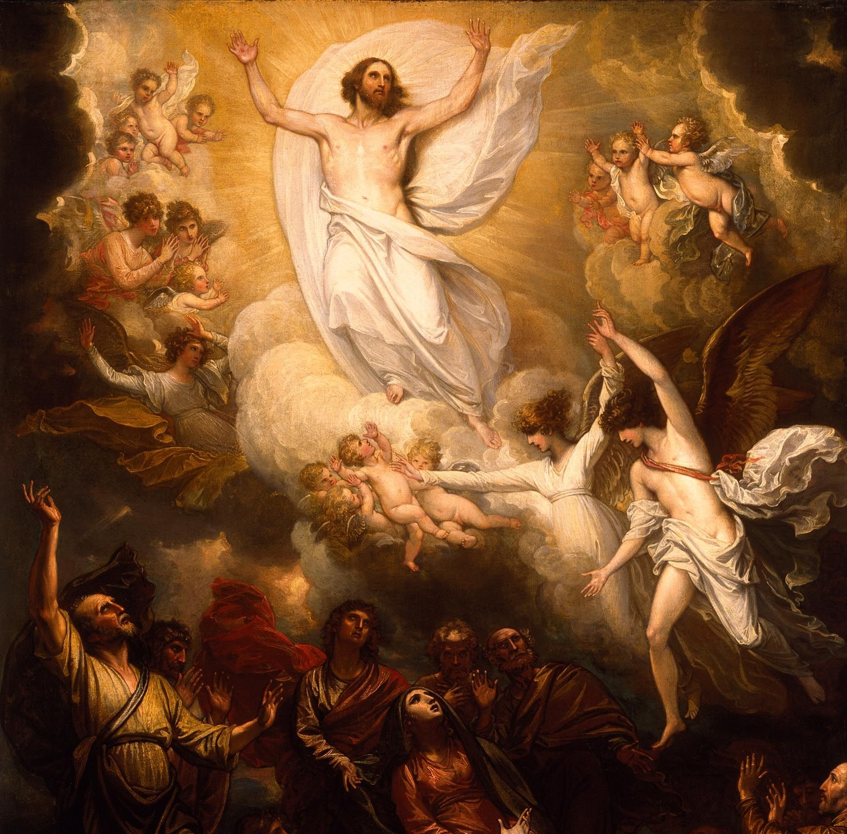 Fiesta de la Ascensión del Señor, 40 días después de la Resurrección