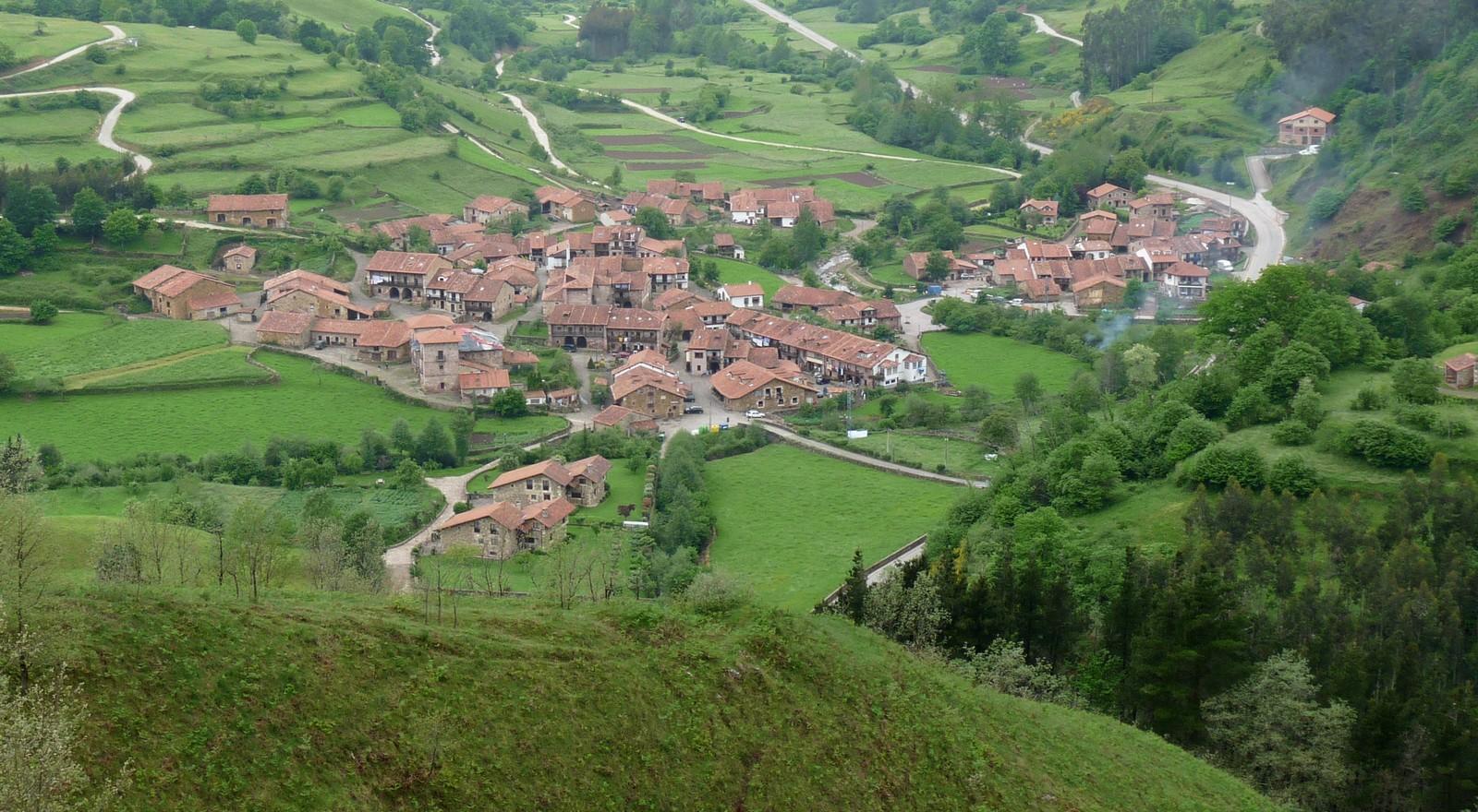 La aldea San Sebastián de Garabandal, donde Apareció la Virgen de 1961 a 1965
