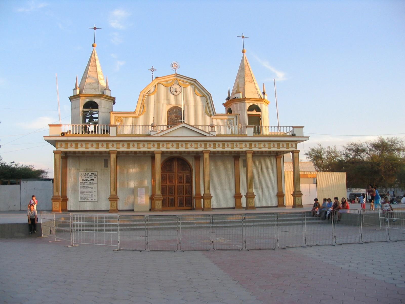 Nuestra Señora del Carmen de la Tirana, Extraña Historia Sobrenatural, Chile (16 jul)