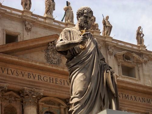 San Pedro-Apóstol con las Llaves fondo