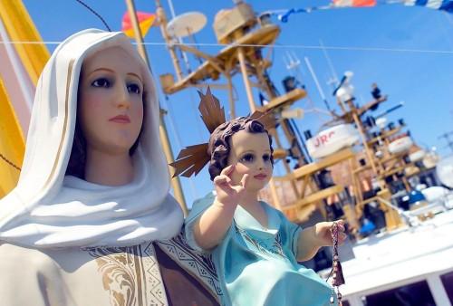 Virgen-pescadores Puntarenas-