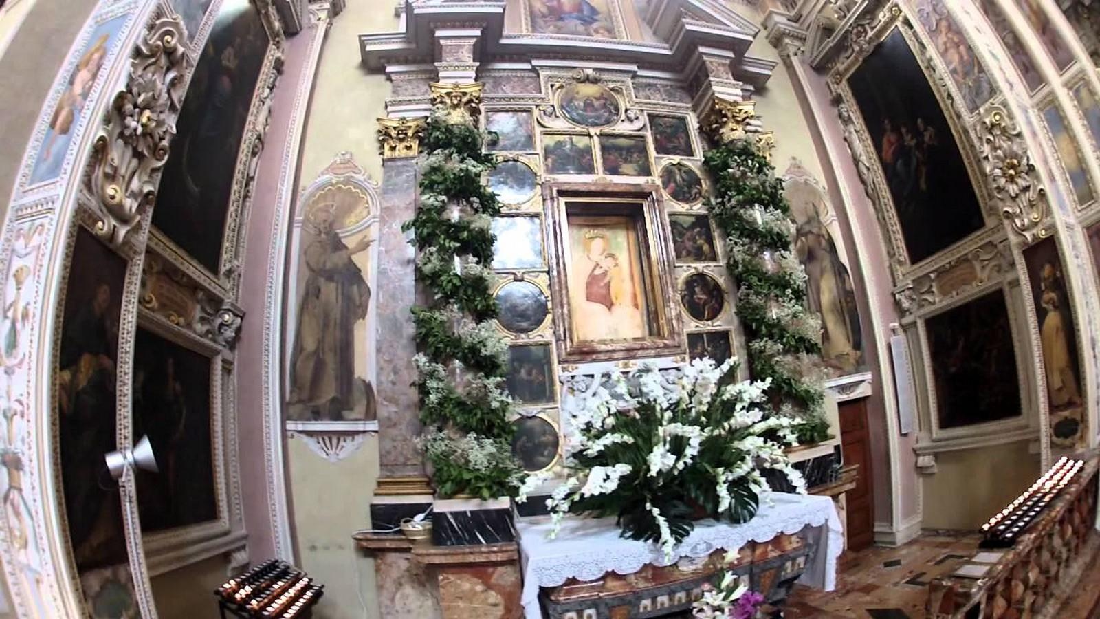 Santa María de los Milagros de Morbio Inferior, Aparece a 2 Niñas Endemoniadas, Suiza (29 jul)