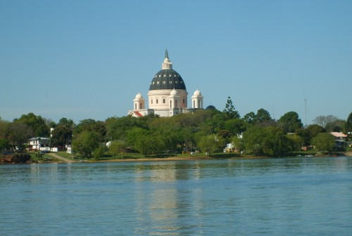 basilica de itati desdel el rio
