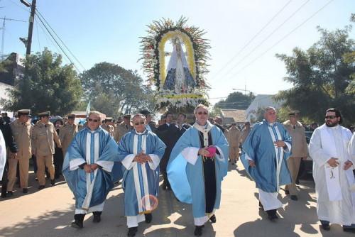 coronacion pontificia de virgen de itati