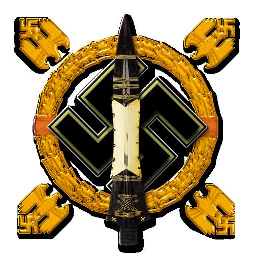 esvastica con lanza de longino