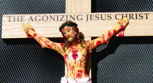 jesucristo agonizante