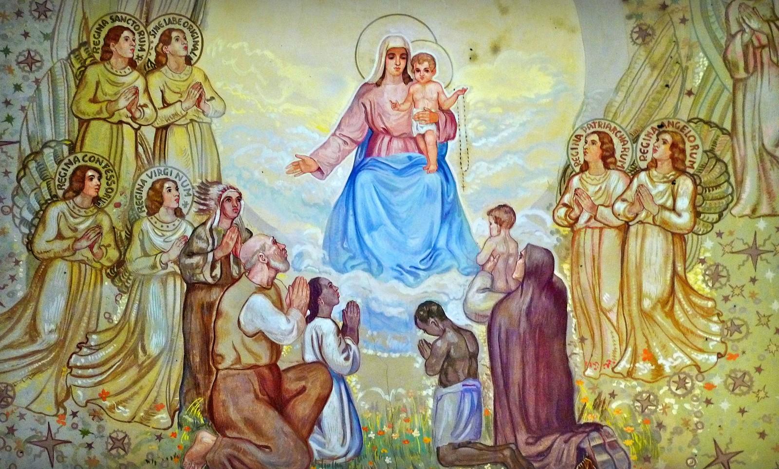 Nuestra Señora de la Nieve de Adro, quiere que le Construyan un Santuario, Italia (8 jul, 5 ago)