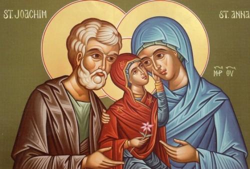 maria con san joaquin y santa ana