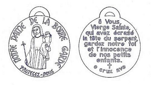 medalla bone garde