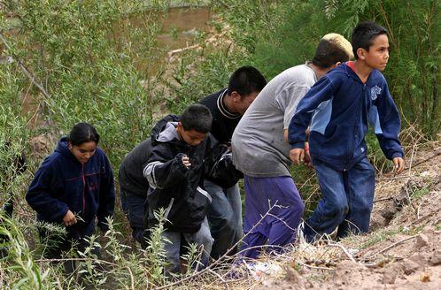 niños centroamericanos migrando solos a ee.uu.