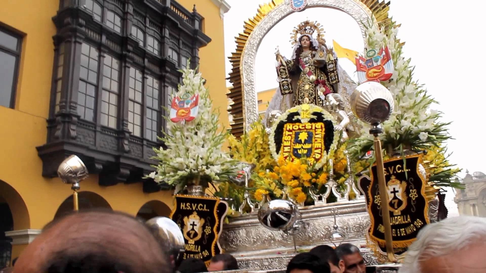 Virgen del Carmen de Lima, Símbolo de la Integración Social Limeña, Perú (16 jul)