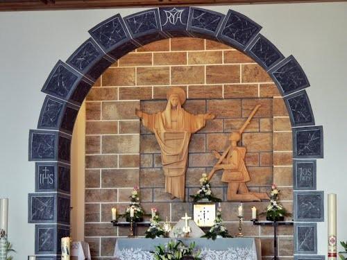 virgen de ziteil estatua