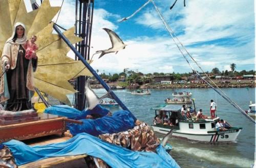 Celebración de Virgen del Mar en Puntarenas
