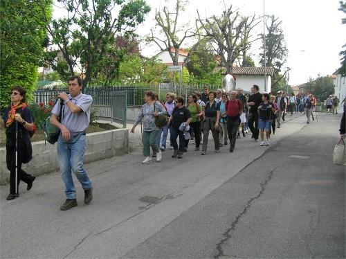 peregrinación a la virgen del lado del monte calderaro