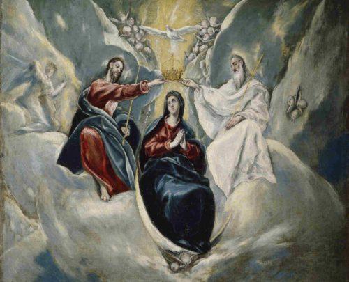 Coronacion de Maria, el Greco