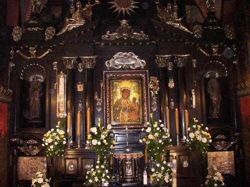 altar Jasna-Gora-Czestochowa