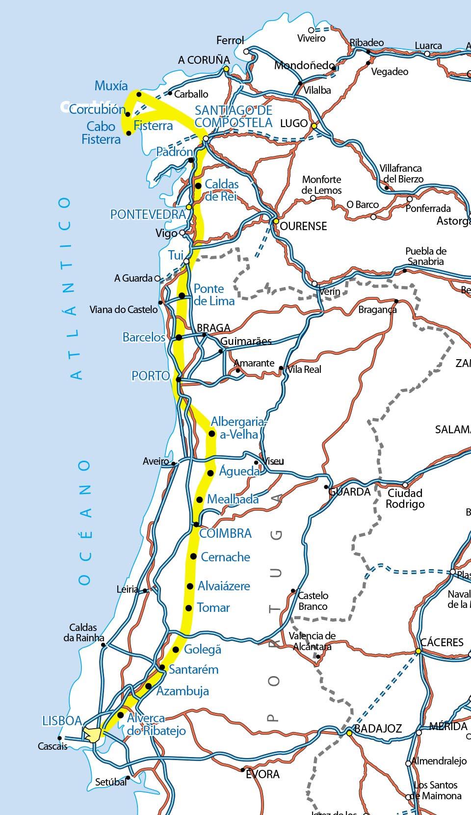De Éfeso al Camino de Santiago: Virgen Peregrina de Pontevedra