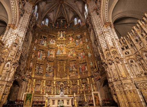 capilla mayor catedral toledo