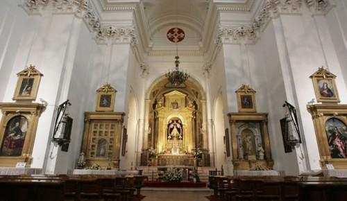 interior iglesia de la caridad de illescas