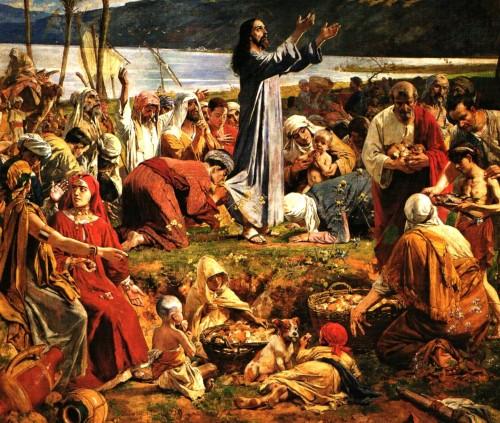 jesus pide el milagro de multiplicacion