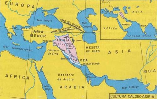 mapa-caldeo-asiria-mesopotamia