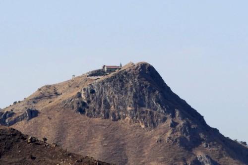 monte kalfa y santuario de roccafiorita