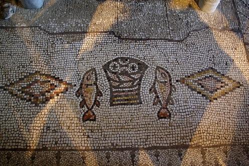 mosaico de la multiplicacion tabgha israel