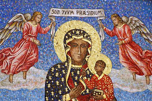 mosaico jasna gora