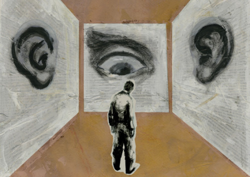 ojos y oidos vigilando
