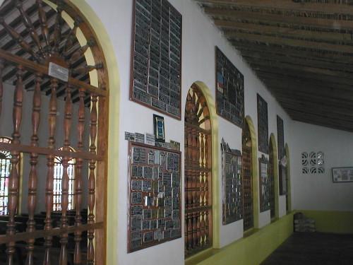 pasillo de ex votos torcoroma